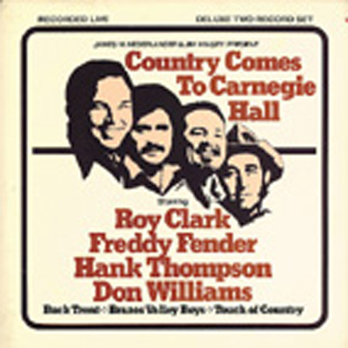 Country Comes To Carnegie Hall (2-LP)