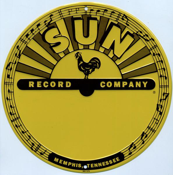 Sun Logo - Aluminum Sign - Alu-Schild 12' - 30