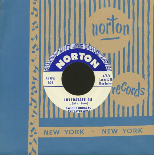 Lenny & The Thundertones - Dwight Douglas & The Jayhawkers (7inch, 45rpm)