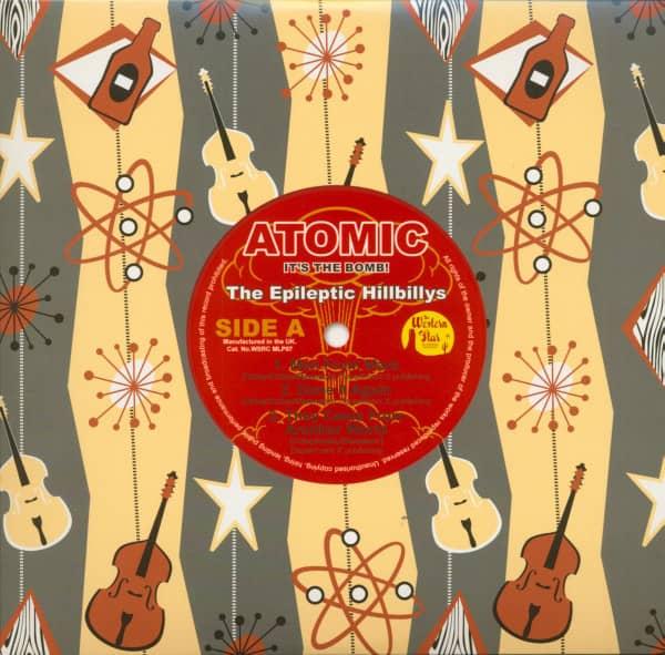 Atomic - It's The Bomb (10inch LP, color vinyl)