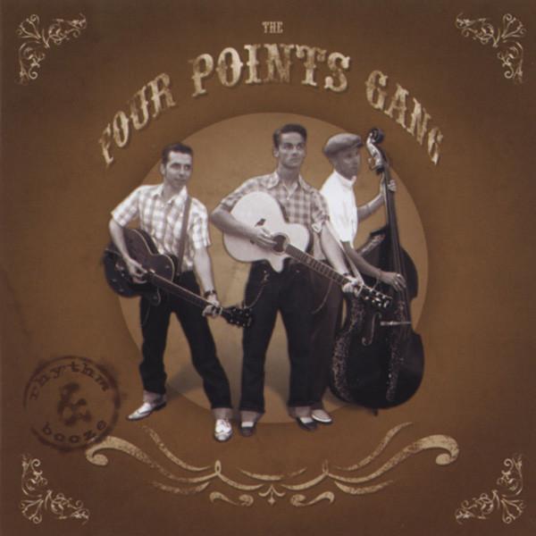 Four Points Gang Rhythm & Booze CD-EP
