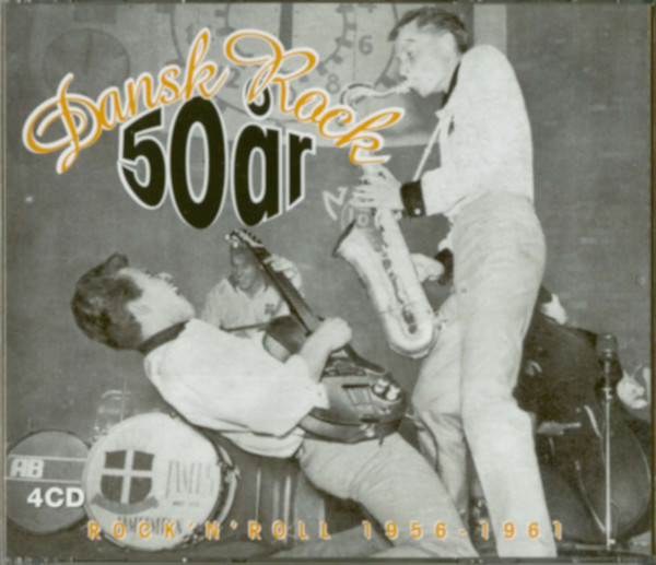 Dansk Rock'n'Roll 1956-61 4-CD