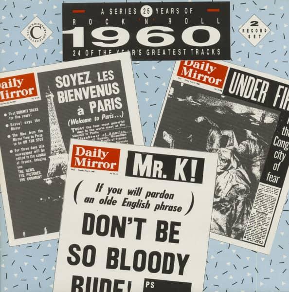 25 Years Of Rock 'N' Roll - 1960 (2-LP)