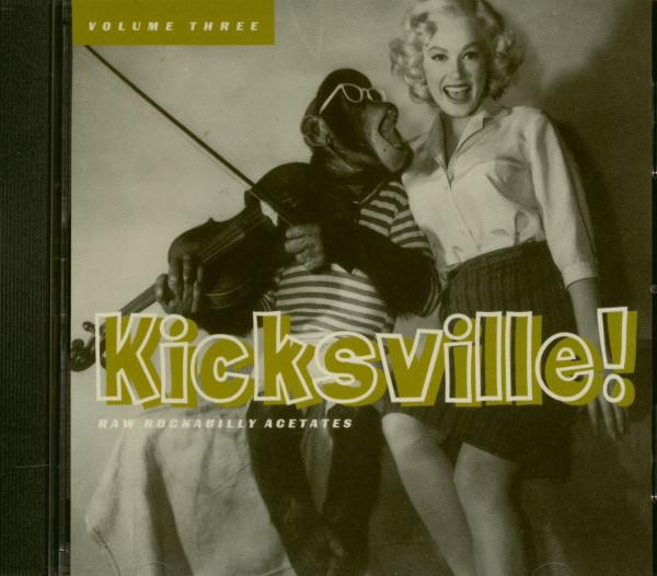 Kicksville - Rockabilly Acetates Vol.3 (CD)
