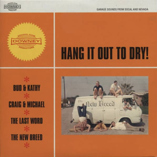 Hang It Out To Dry! 7inch, 45rpm, EP, PS, SC