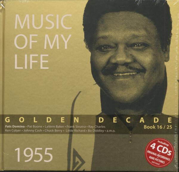 Golden Decade Vol.16 - 1955 (Book & 4-CD)