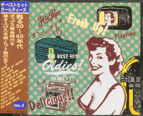 The Best Hit Oldies, Vol.1 (CD, Japan)