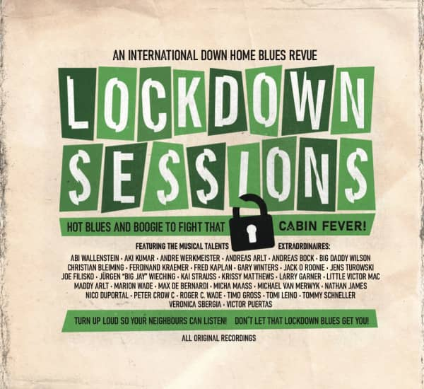 Lockdown Sessions - A Downhome Blues Revue (2-CD)