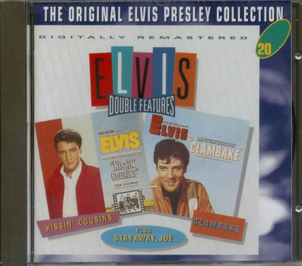 Double Features - Kissin' Cousins & Clambake, plus - The Original Collection #20 (CD)