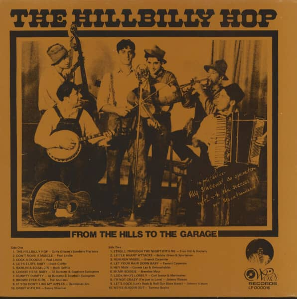 The Hillbilly Hop - From The Hills To The Garage (LP)