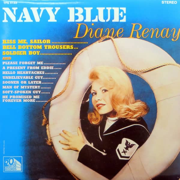 Navy Blue (stereo) Vinyl LP re-issue