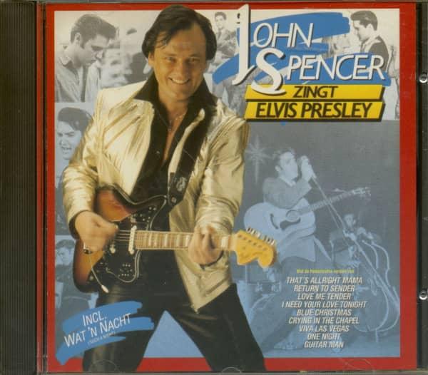 John Spencer Sings Elvis Presley (CD)