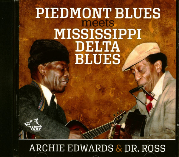 Piedmont Blues Meets Mississippi Delta Blues (CD)