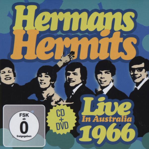 Herman's Hermits Live In Australia 1966 (CD&DVD)