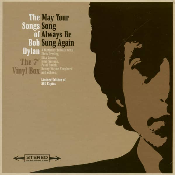 The Songs Of Bob Dylan - May Your Song Always Be Sung Again - Various Artists (10x7inch, 45rpm Vinyl Box. Ltd.)