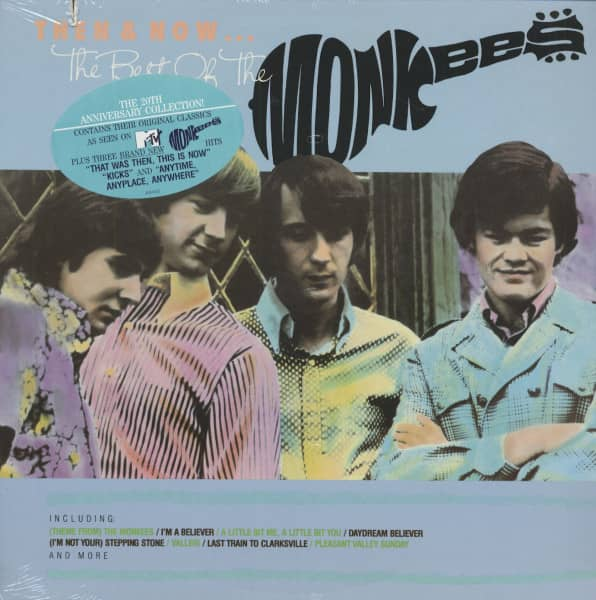 Then & Now...The Best Of The Monkees (LP)