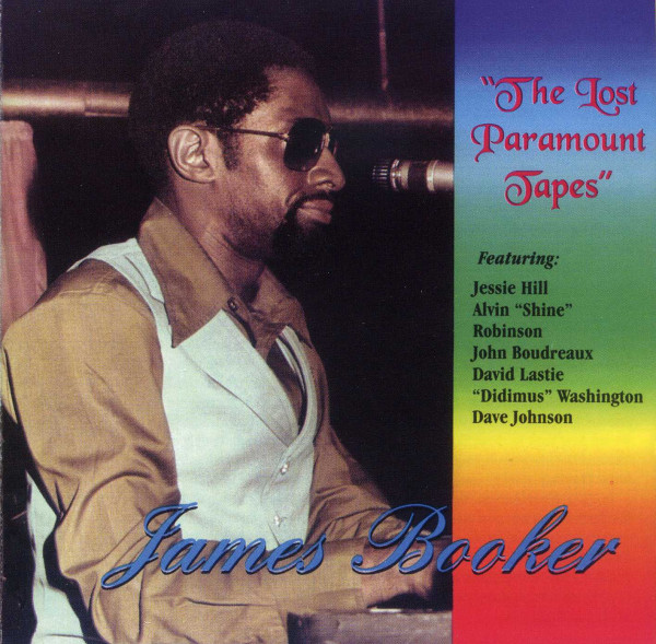 Booker, James The Lost Paramount Tapes