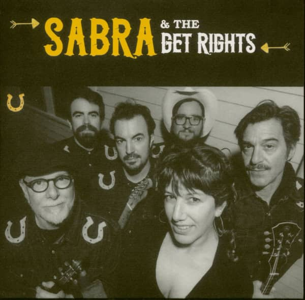 Sabra & The Get Rights (CD, EP, Papersleeve)