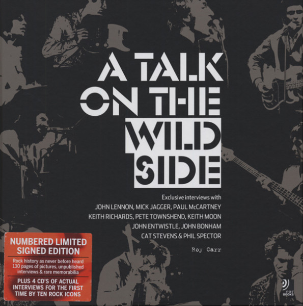 A Talk On The Wild Side Roy Carr (4-CD Digibook 28x28 cm)