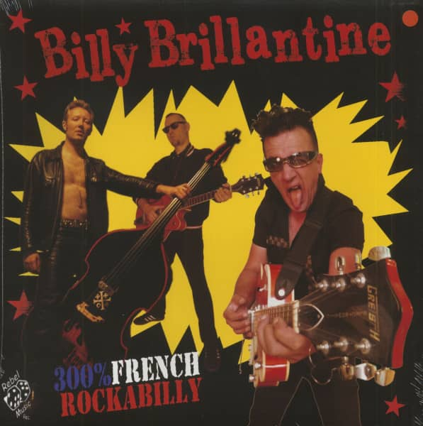300% French Rockabilly (LP, Colored Vinyl, Ltd.)