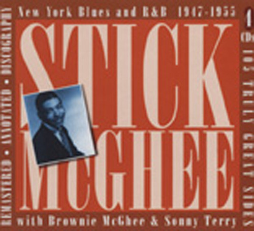 Mcghee, Sticks New York Blues & R&B (4-CD-Box)