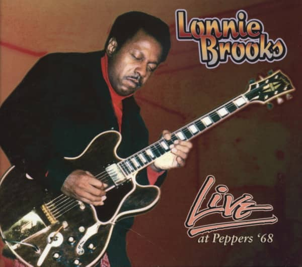 Brooks, Lonnie Live At Peppers