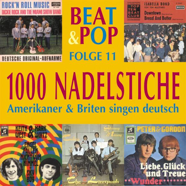 Vol.11, Beat & Pop - Amerikaner & Briten singen deutsch (CD)