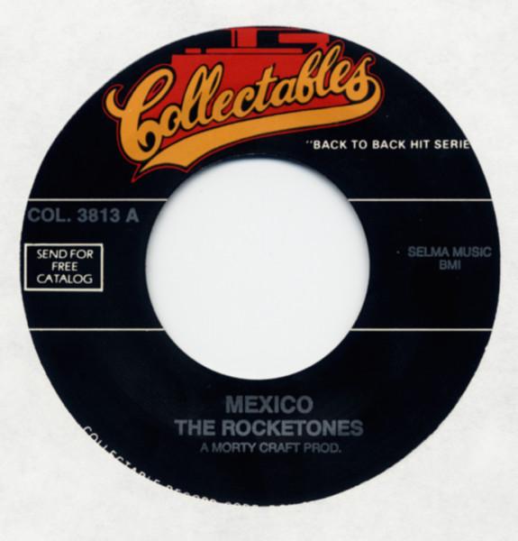 Mexico b-w Dee I 7inch, 45rpm