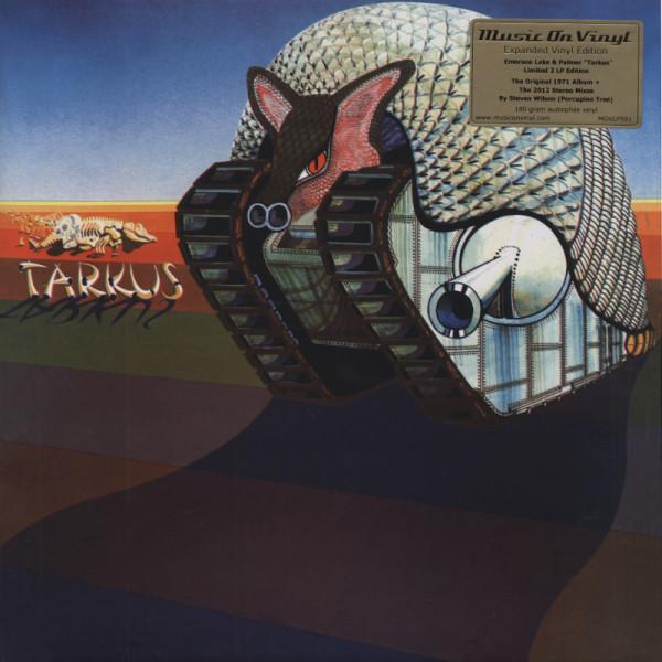 Emerson Lake & Palmer Tarkus (1971)...plus (Deluxe 2x180g LP)