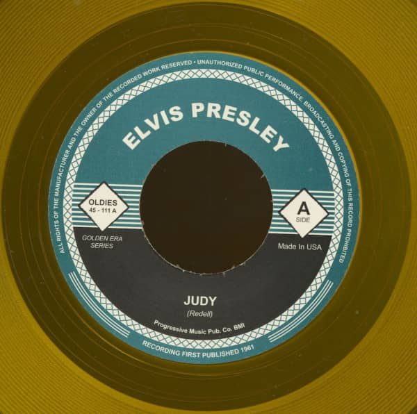 Judy - Promised Land (7inch, 45rpm, yellow wax)