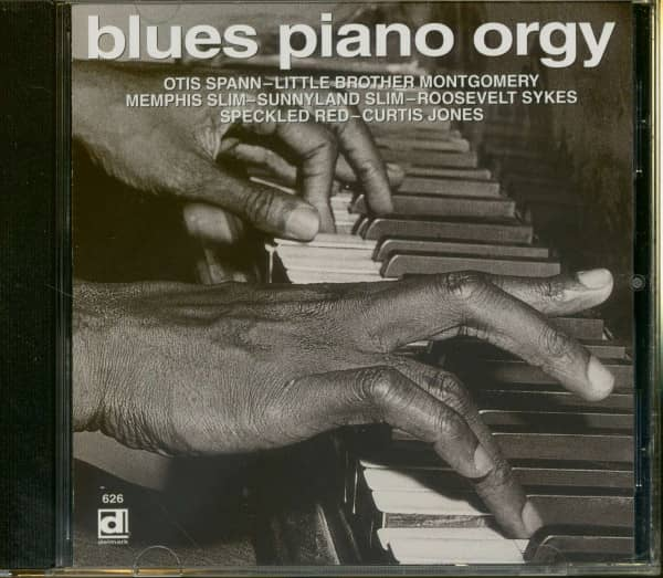 Blues Piano Orgy