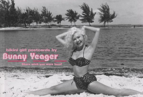 Bikini Girl Postcards - Bunny Yeager: 40 Photo Postcards