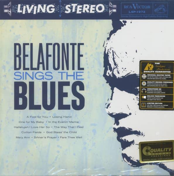 Belafonte Sings The Blues (LP, 180g Vinyl, Ltd.)
