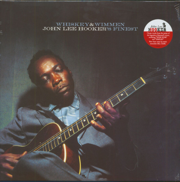 Whiskey & Wimmen - John Lee Hooker's Finest (LP)