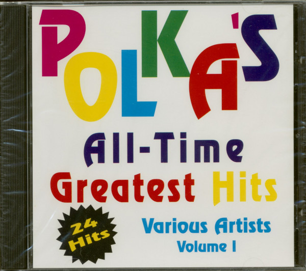 Polka's All Time Greatest Hits - Volume 1 (CD)