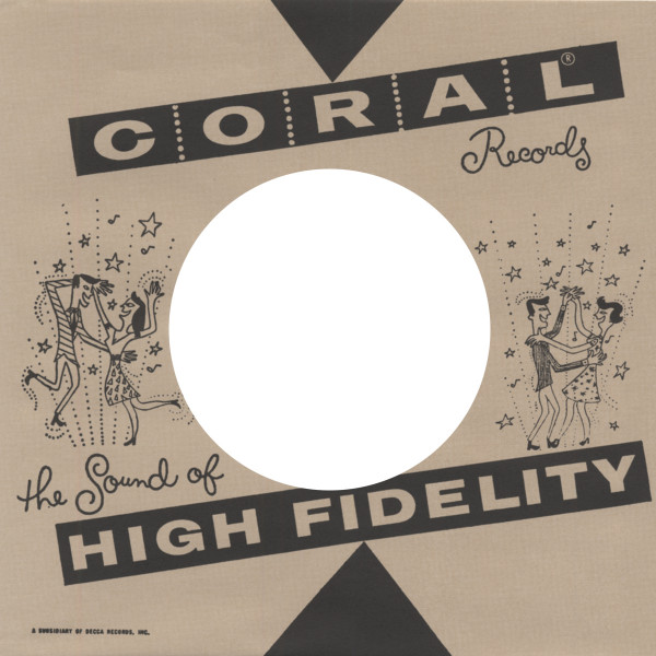 (50) Coral, USA - 45rpm record sleeve - 7inch Single Cover