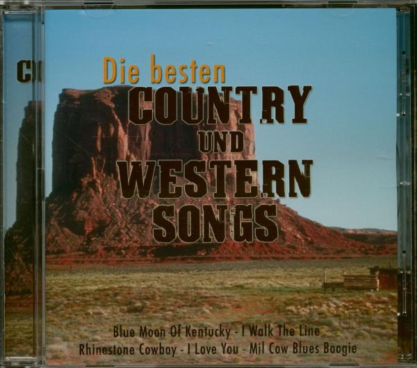 Die Besten Country Und Western Songs (CD)
