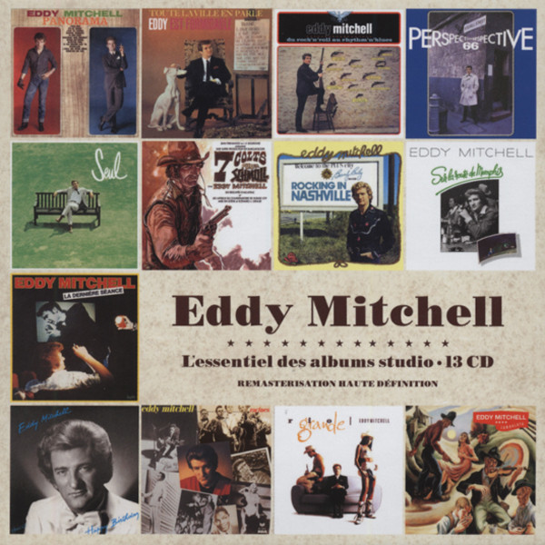 Mitchell, Eddy Essential Studio Albums (13-CD)
