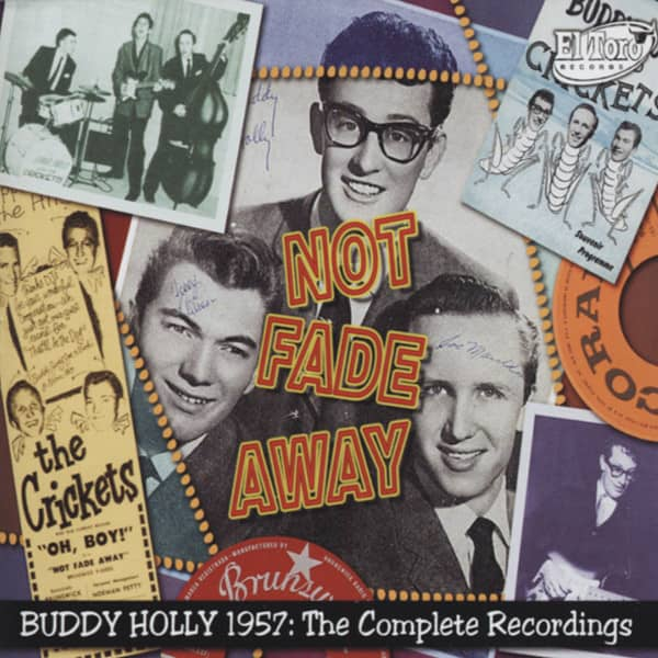 Holly, Buddy Not Fade Away - Complete 1957 Recordings 3-CD