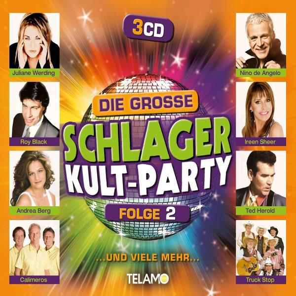 Die große Schlager Kult-Party Folge 2 (3-CD)