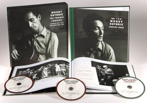 Woody Guthrie - The Tribute Concerts (3-CD Deluxe Box Set)