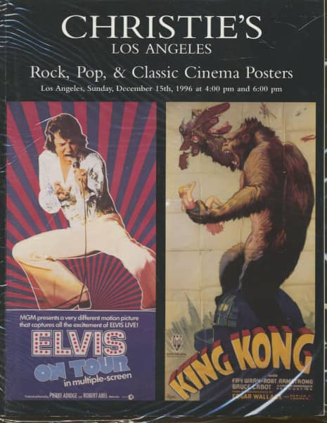Rock, Pop & Classic Posters - Christie's Los Angeles - Auction Cataloge