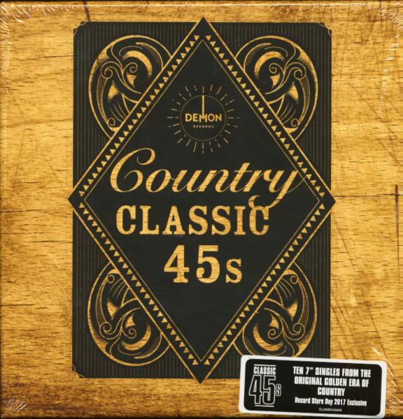 Country Classics 45s (10-7inch-Box, 45rpm, Ltd.)