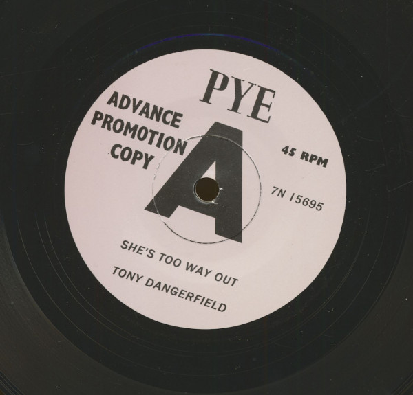 She's Too Way Out - I've Seen Such Things (7inch, 45rpm, sc)
