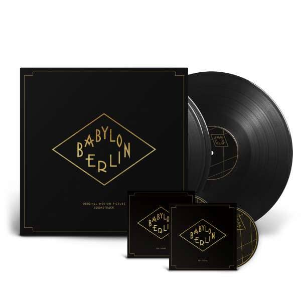 Babylon Berlin - Original Motion Picture Soundtrack (3-LP, 180g Vinyl + 2-CD)