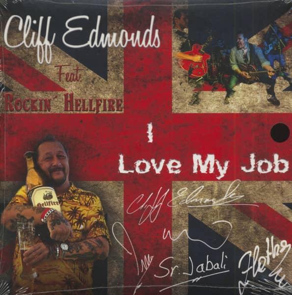 I Love My Job (7inch, 45rpm, EP, PS)