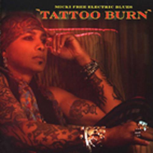 Micki Free Electric Blues Tattoo Burn