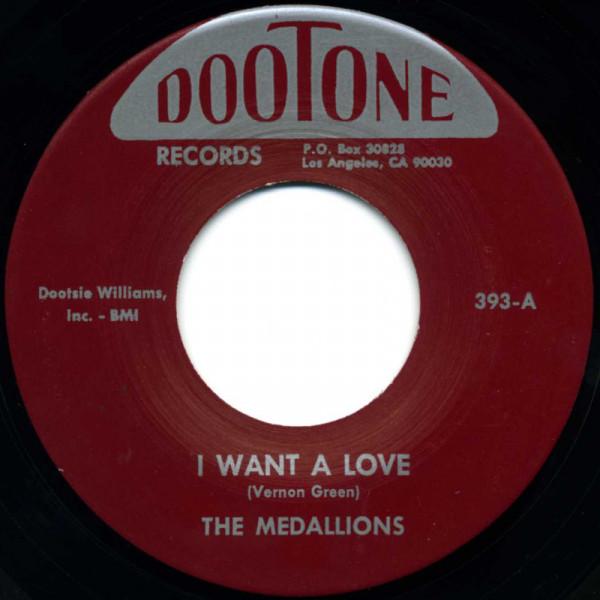 I Want A Love b-w Dance & Swing 7inch, 45rpm