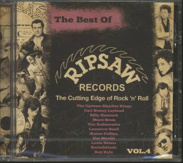 The Best Of Ripsaw Records Vol.4 (CD)