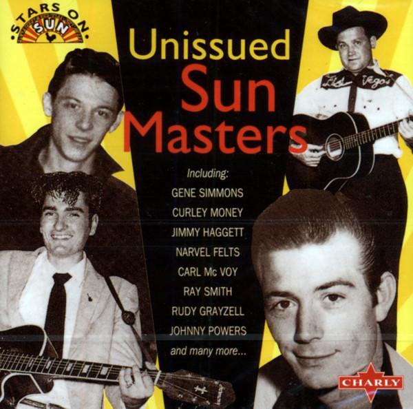 Unissued Sun Masters (CD)